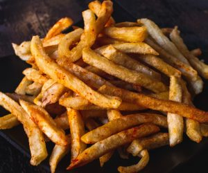air fryer crispy fries